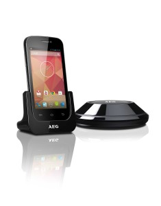 AEG Voxtel Smart 4 Dect Telefon mit Station