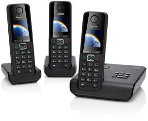 Trio Dect Telefon mit Anrufbeantworter